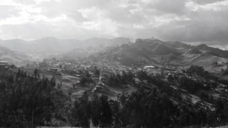 Santiago de Chuco, les Andes, le premier jour